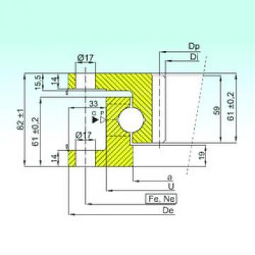 підшипник ZK.22.1100.100-1SPPN ISB